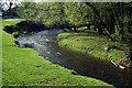 SJ8977 : River Bollin, nr. Prestbury by Stephen McKay