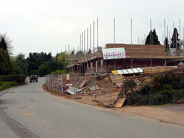Building continues in Denstone