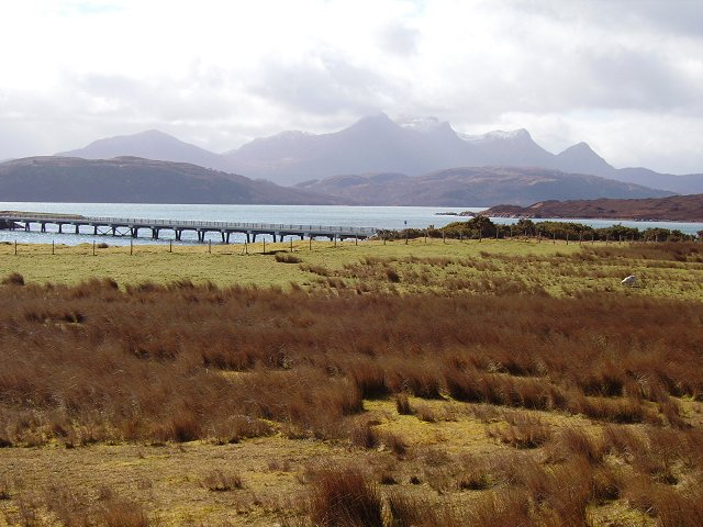 Kyle of Tongue bridge