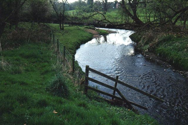 River Bollin below Prestbury