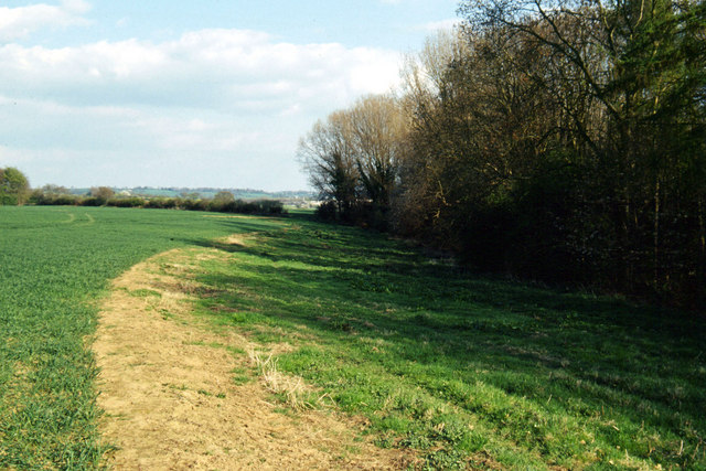 Farmland near Hanwell