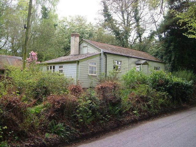 Wooden bungalow on Telegraph Lane