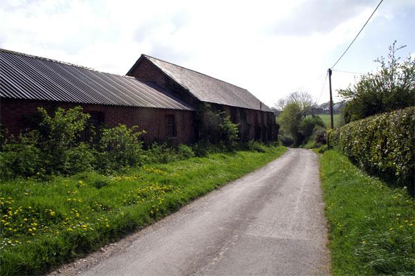 Road to Manor Farm, Milborne St Andrew