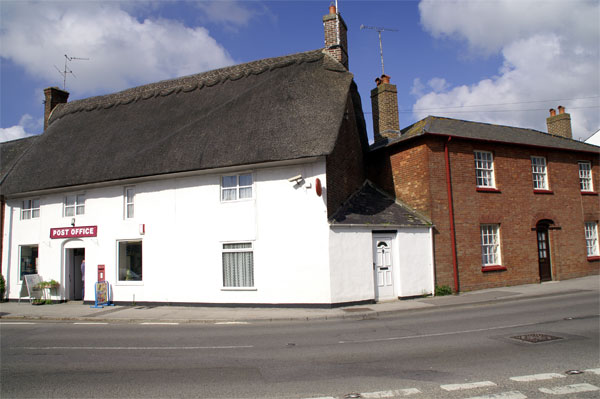 Thatched post office, Milborne St Andrew