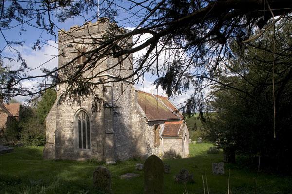 Milborne St Andrew Church