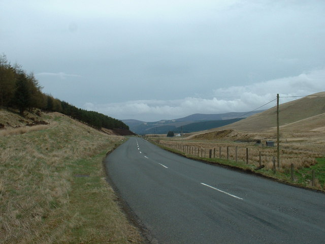 A701 near Hawkshaw