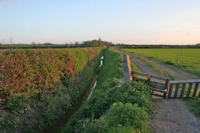 Moor Dyke near the A52