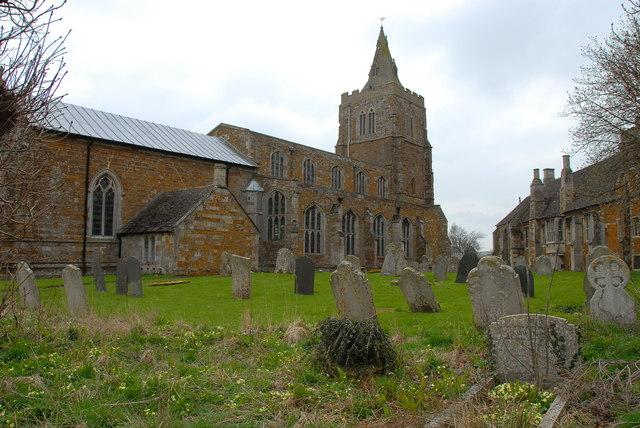 St Andrews Church & Lyddington Bede House, Lyddington