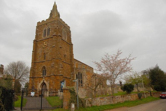 St Andrews Church, Lyddington