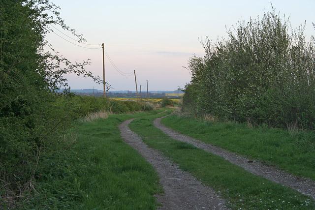 Occupation Lane near Elton and Orston station