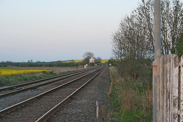 From the Bottesford West level crossing