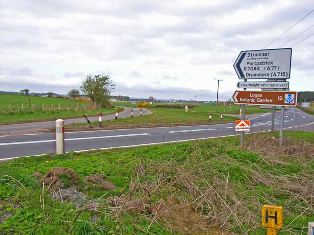 Junction on the A75