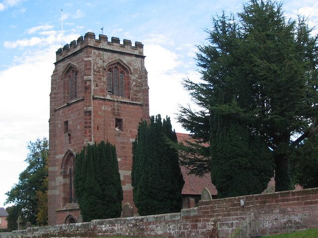St. Mary's Church, Tilston, Cheshire