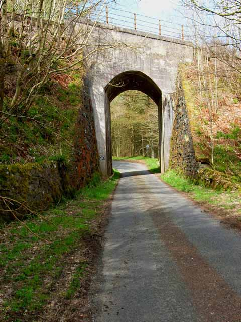 Railway bridge near New Luce