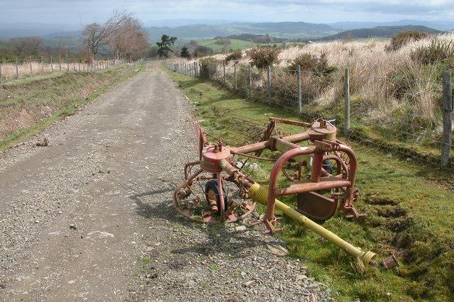 Haybob near the Kerry Ridgeway