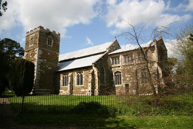 St.Nicholas' church, East Kirkby, Lincs.