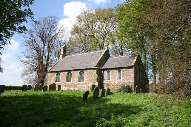 St.Peter & St.Paul's church, Hareby, Lincs.