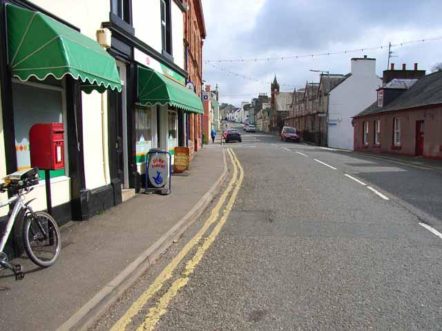 Main street in Glenluce