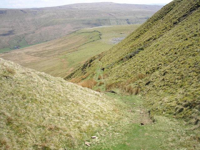 Wild Boar Fell bridleway