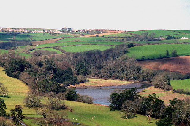Tidal River Tiddy, north of St Germans