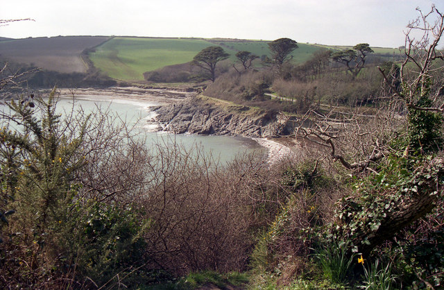 Polridmouth from the coastal footpath