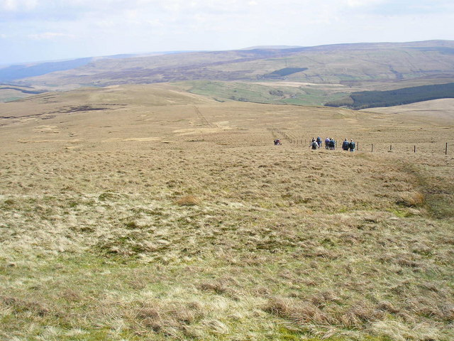 Descending Swarth Fell