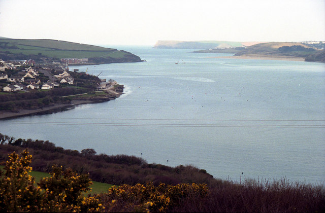 Camel Estuary from the Dennis Hill Obelisk
