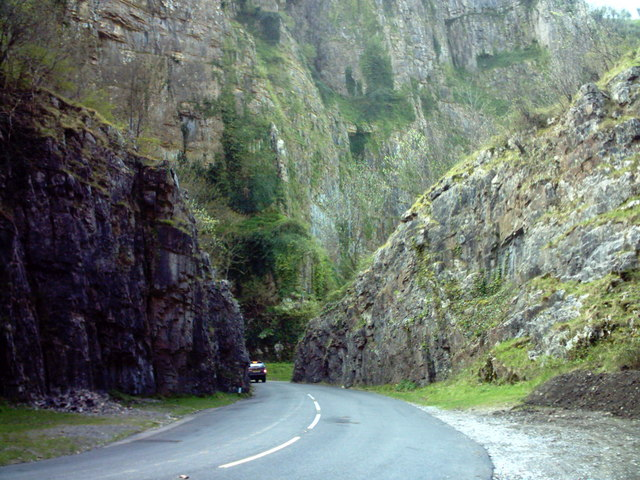 Cheddar Gorge Close up