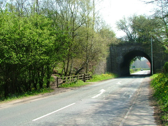 Bridge over A527 at Whitemoor