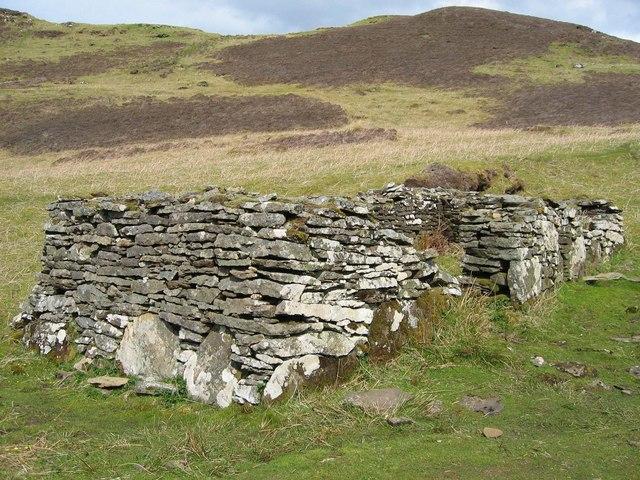 Ruined House in Boreraig