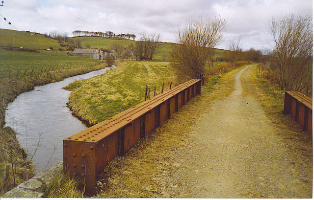 Formartine & Buchan Way, by Mill of Clackriach.