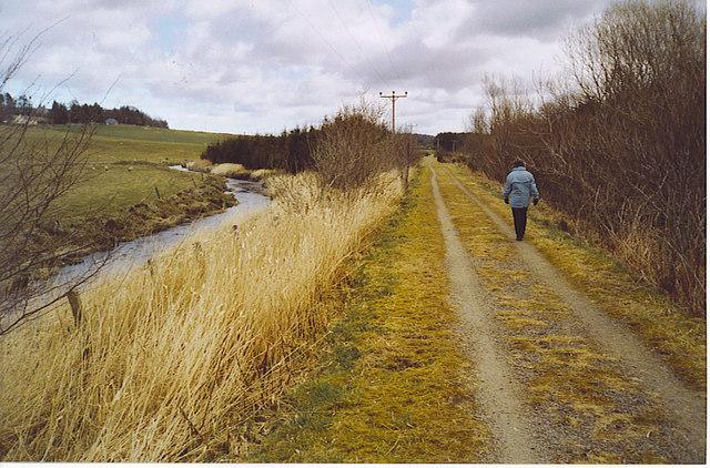 Formartine & Buchan Way, by Waterhill of Bruxie.