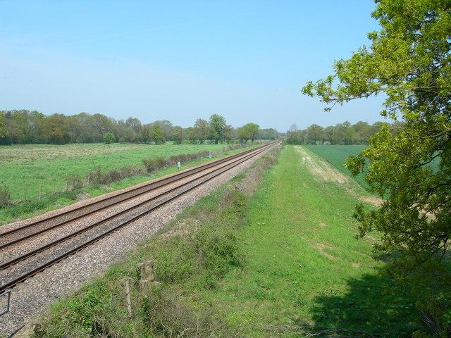 Southampton to Romsey Railway Line.