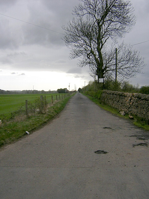 Road to Inchbelle Farm