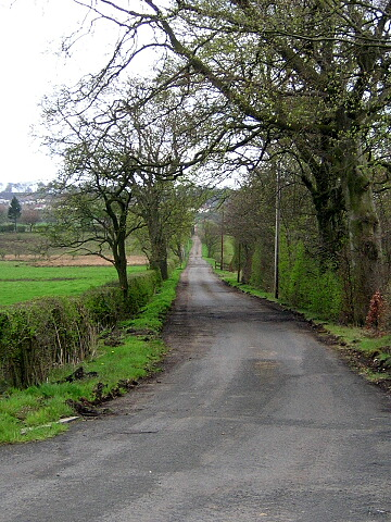Road to Netherinch Farm