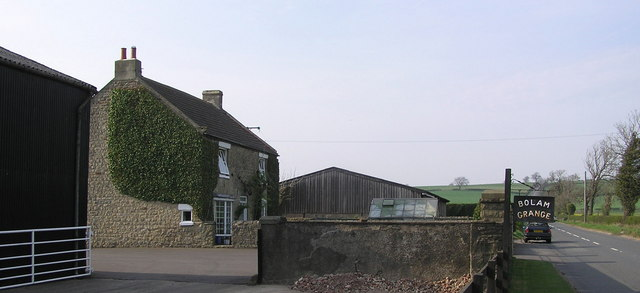 Bolam Grange Farm.