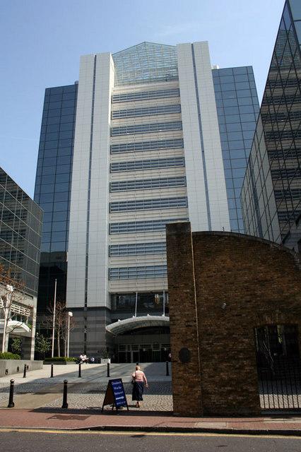 Office blocks at Thomas More Street, London