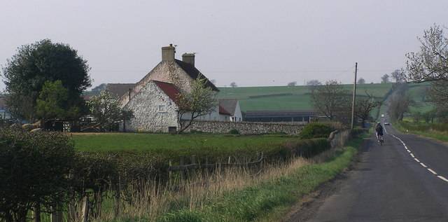 Sandforth Moor Farmhouse.