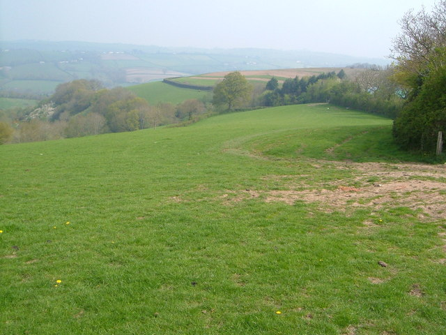 View near Westwood Farm