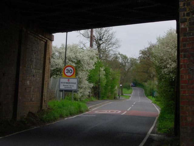 Entering Edenbridge - Kent