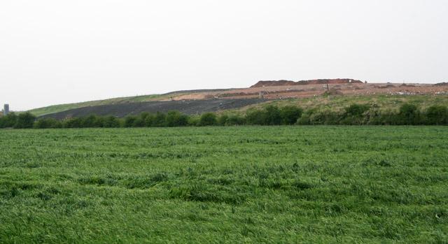Landfill site, Coach Gap Lane, Langar