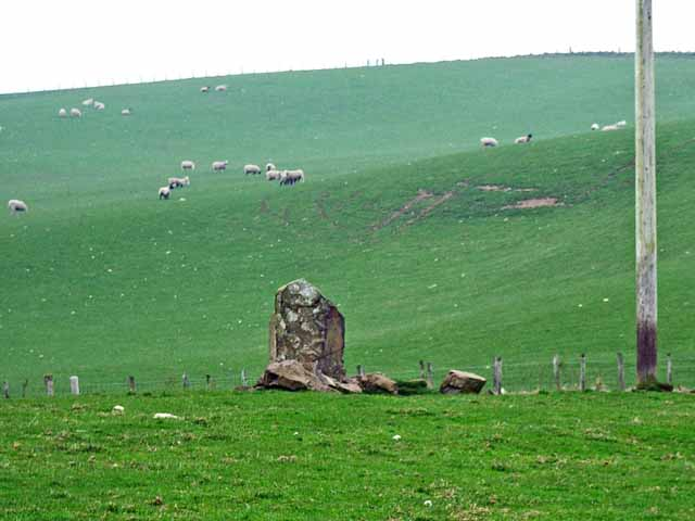 Standing stone at Knock and Maize