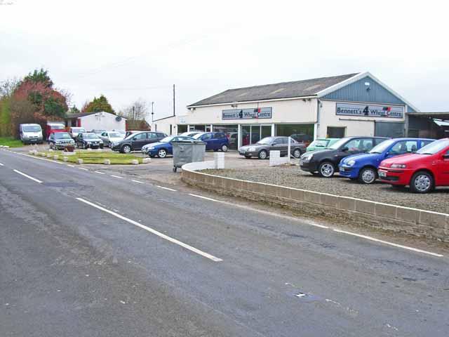 Bennett's Four Wheel Centre, Leswalt