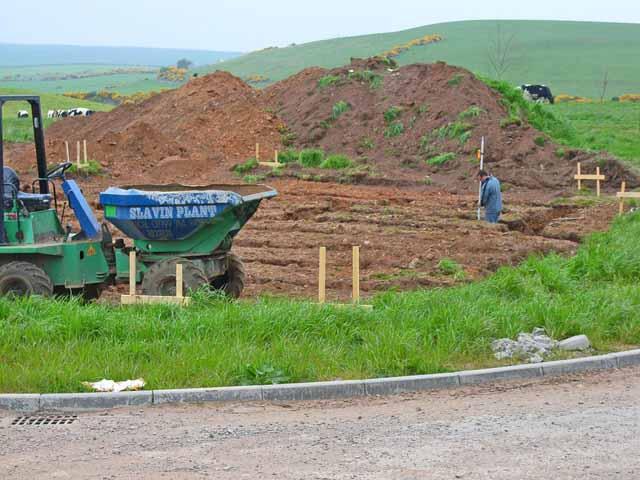 Building site, Leswalt