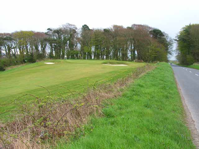 A corner of the course at Stranraer Golf Club