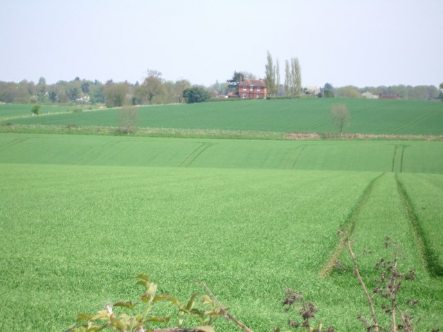 Fields east of Hound House Road