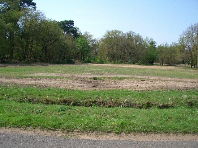 The car park at Farley Heath