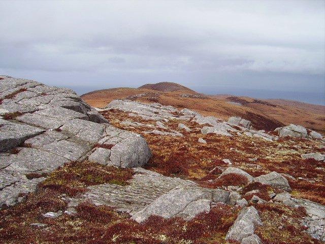 Ben Hutig, summit ridge
