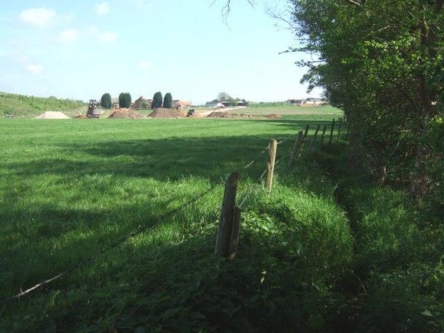 Footpath and Trumps Farm