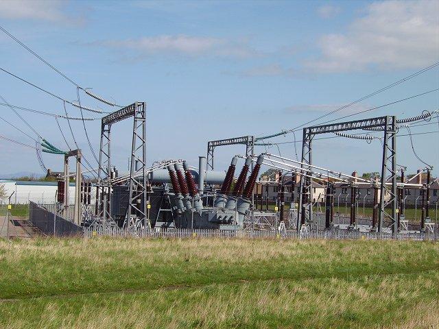 Cockenzie power station - the output plug